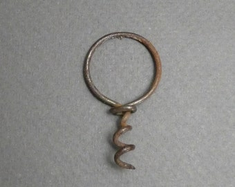 Early perfume cork screw