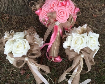 Bridal flower wedding package