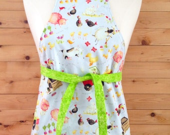 Apron kitchen for children from 2 to 8 years. Theme closes. Unisex. Reversible. Available for immediate delivery!