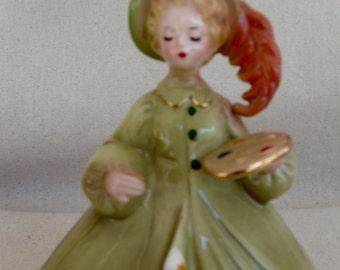"Vintage Josef Originals ""The Artist"" Figurine"