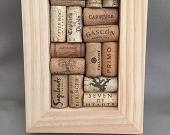 Wine cork board 4x6 frame