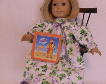 """18"""" Doll Nightgown Set"""