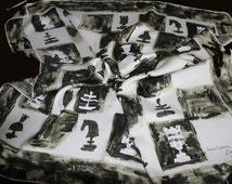 Scarf  silk LANVIN by CASTILLO vintage year 60
