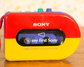 My First Sony Walkman Personal Cassette Player with Tapes - Tested