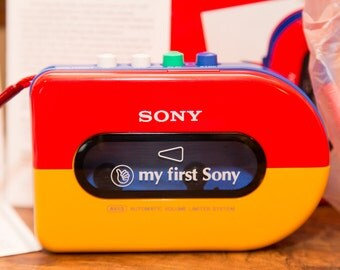My First Sony Walkman Personal Cassette Player NIB