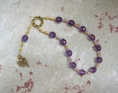 Dionysos (Dionysus) Mini Prayer Beads: Greek God of Wine, Theater, Ecstasy and the Mysteries