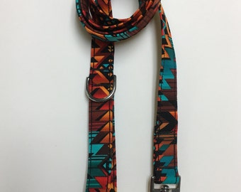 Aztec Print Dog Leash