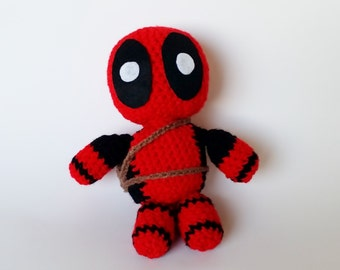 Amigurumi Crochet Deadpool