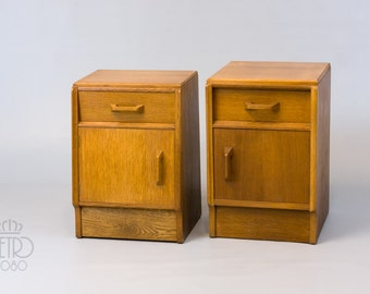 A pair of 1960's Ernest Gomme G-Plan Bedside Cabinets