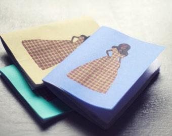 Ankara Barbie Notebook Set (x3)