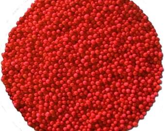 Red Non-Pareils 16 oz bag - 1 lb CK Products
