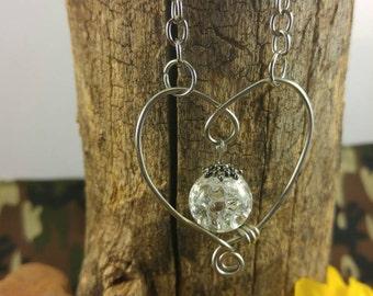 Shattered Glass Heart Pendant