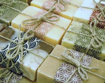 Organic soaps - Handmade natural soaps - You choose 3 soaps - botanicalsoap