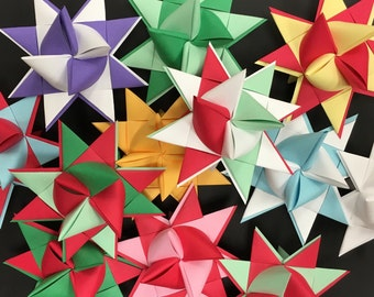 Moravian Paper Star two tone Large