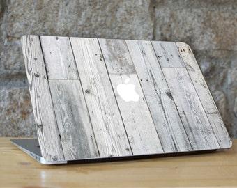 WHITE WOOD, Macbook Wood, Macbook Skin Macbook Pro Skin Wood, Wood Case Macbook, for all Macbook Models