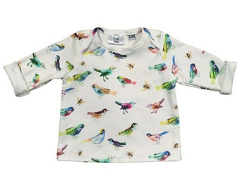 Longsleeve shirt woodland - organic cotton