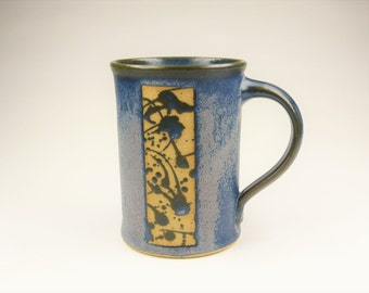 Cup just blue with application