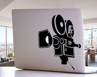 Video Camera Fim Movie Hollywood MacBook Mac Laptop Decal Sticker