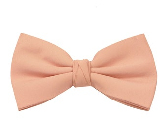 Rose Gold Men's Wedding/Prom Bow Tie available in 37 colours by Matchimony