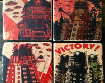 OVERSTOCK SALE: Doctor Who Robot To Victory Coaster or Decor Accent