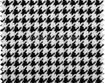 Curtains Ideas black and white patterned curtains : Houndstooth curtains | Etsy