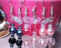 Elegant Lolita Beaded Earrings
