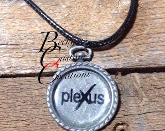 Plexus logo necklace