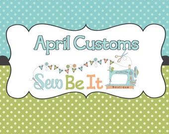 April Custom Reservation Slot