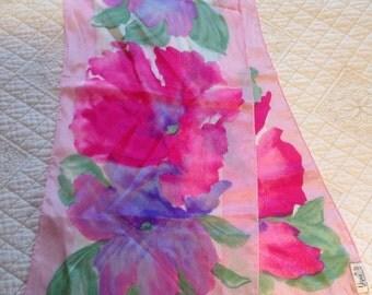 Vera 100% silk scarf