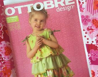 Ottobre Design Sewing Pattern Magazine SUMMER issue 3/2006