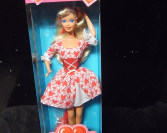 Reserved for Marco Mattel Valentine Sweetheart Barbie vintage New in box Special Edition