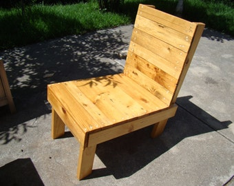 Winston Woodworks Handmade Pallet Chair Garden Furniture Reclaimed Recycled Timber Wood Made To Order