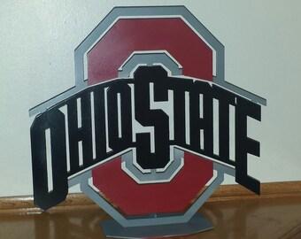 Ohio State Metal Stand