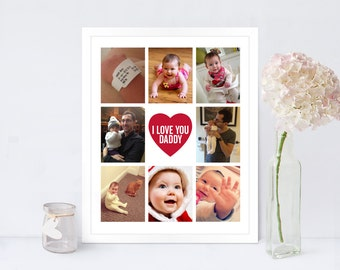 Photo Collage Print Compact / Instagram Collage Print