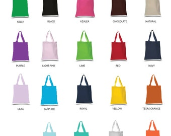 HeavyWeight Canvas Tote 800QW Blank Tote Shopping Tote Bag Wedding Tote Bag Bridesmaids Tote Bag Teacher Gift Bag Cotton Canvas Tote Bag