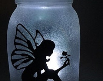 Fairy in a Jar Night Light - Lynda