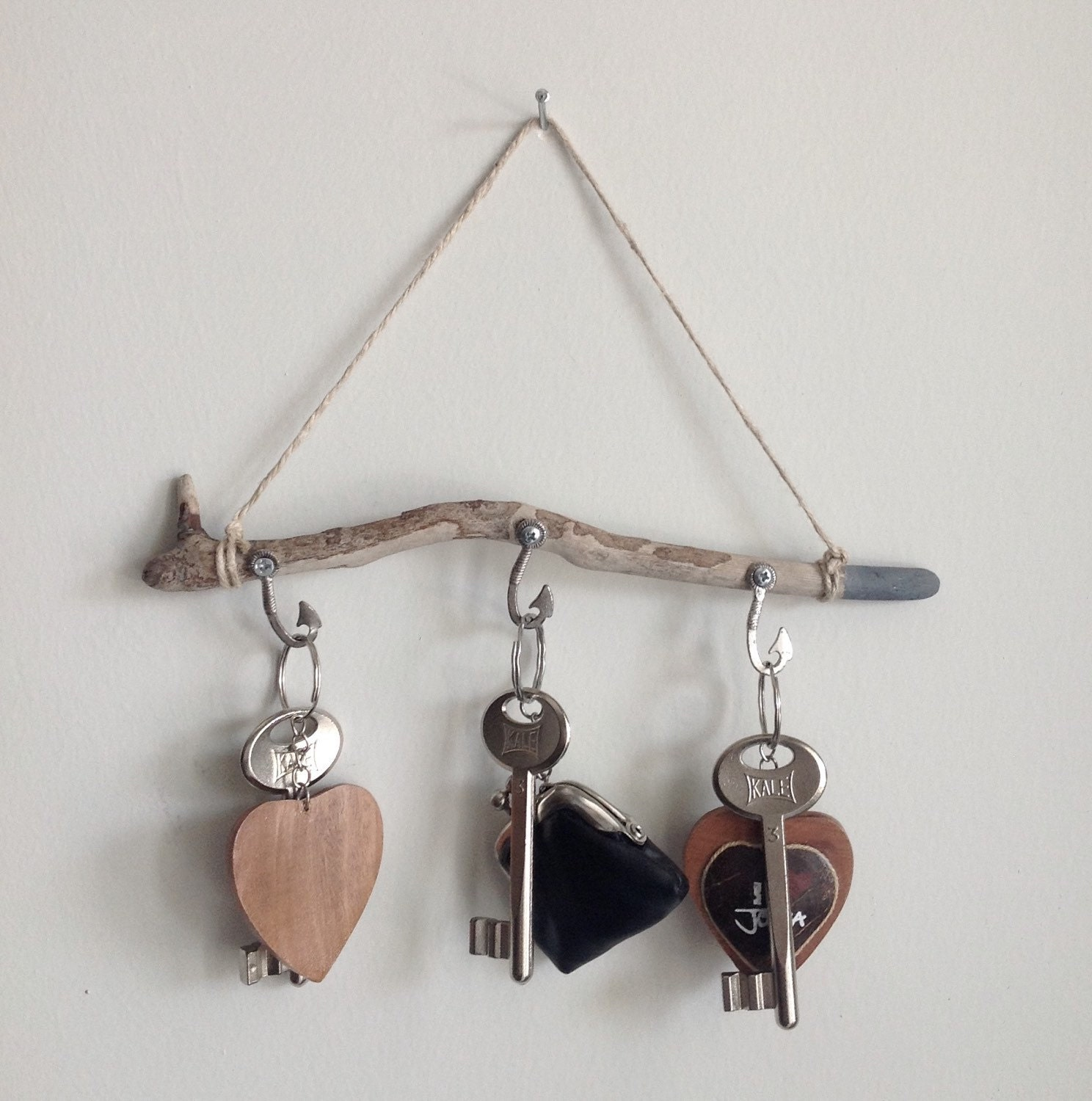 Key Holder For Wall Driftwood Wall Art Necklace Holder