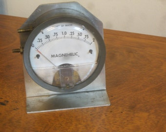 Steampunk Gauge , Magnehelic Gauge , Differential Pressure Gauge , F.W. Dwyer Gauge