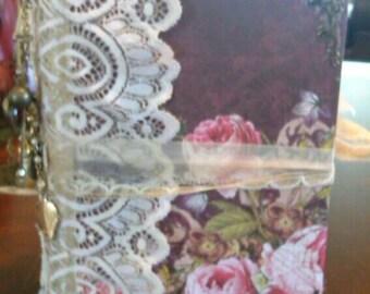 Vintage Rose Journal