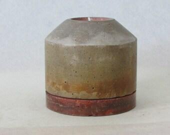 Handcrafted Jumbo Tealight Candleholder- Silo Small