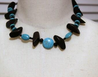 Wire crochet jewelry, crochet bead jewelry, Statement Necklace, Crochet Wire,  Wire Jewelry,  Crochet BeadNecklace, Bib Necklace