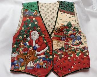 Embellished Womans Christmas Vest