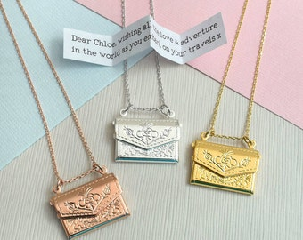 Envelope Secret Message Locket