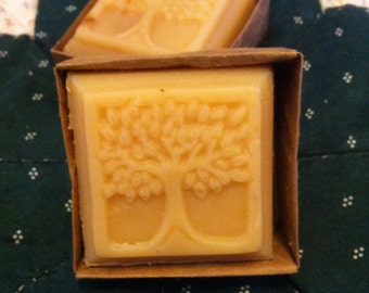 Goat Milk Soap - Tree of Life 2 oz