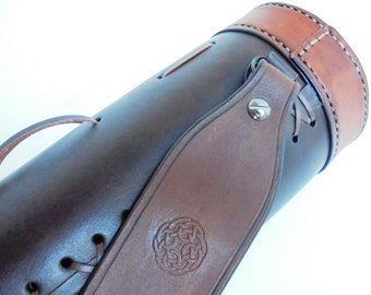 Classic Leather Quiver, Archery Quiver, Hunting Leather Quiver, Customize Leather Quiver, Leather Quiver, Medieval Leather Quiver