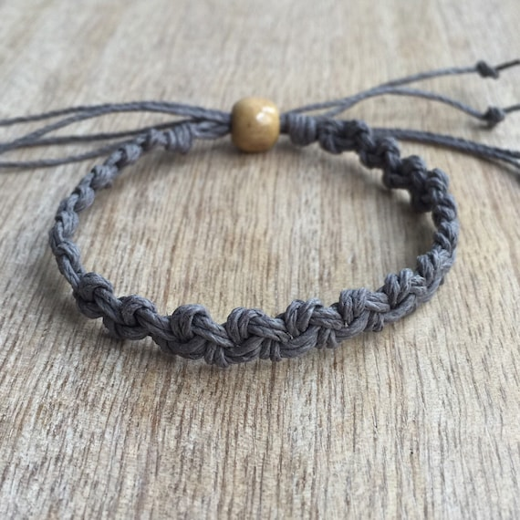 How To Make Hemp Necklaces: Hemp Anklet Braided Anklet Macrame Anklet Surfer Anklet