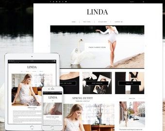 Linda WordPress Theme - Responsive Blog & Magazine Template