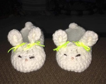 Sleepy Bunny slippers