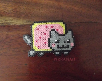 Barrette Nyan cat