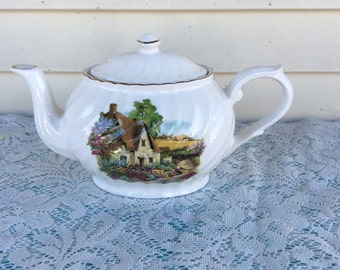 Vintage Arthur Wood & Son Staffordshire Teapot